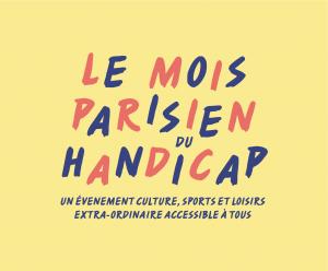 Logo du mois parisien du handicap