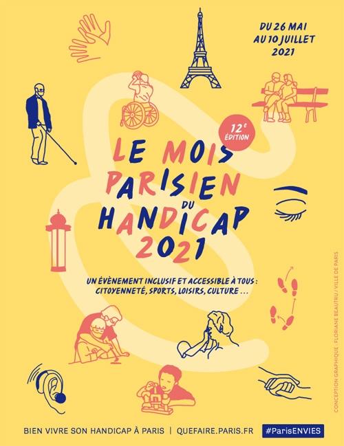 Mois Parisien du Handicap du 26 mai au 10 juillet