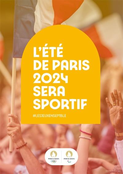 L'ÉTÉ DE PARIS 2024 SERA SPORTIF #LESJEUXENSEMBLE