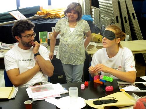 Atelier de sensibilisation au handicap visuel