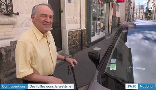 Jacques Gonzales, représentant du CAPFD 75, au 19/20 de France 3