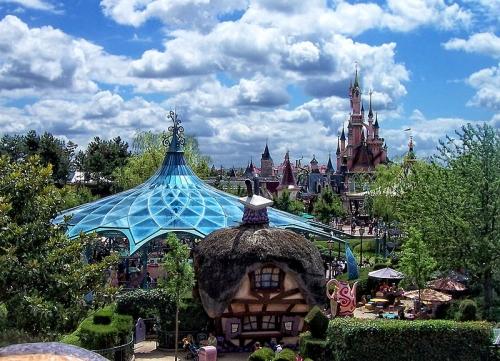 Vue générale du parc Disneyland Paris