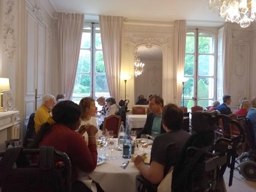 Repas au restaurant du Sénat avec le Cercle Culturel