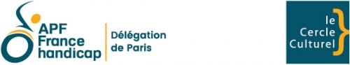 logo du cercle culturel de la délégation APF France handicap de Paris