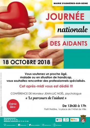 Affiche de la journée nationale des aidants