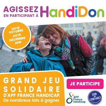 HandiDon - grand jeu solidaire du 15 septembre au 15 décembre !