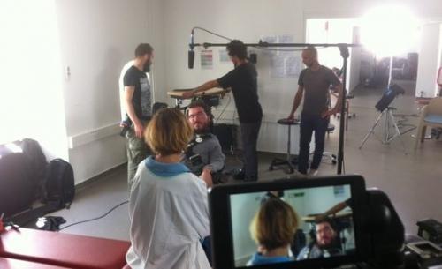 """Photo de tournage du film """"Fils de Garches"""" de Rémi Gendarme-Cerquetti"""