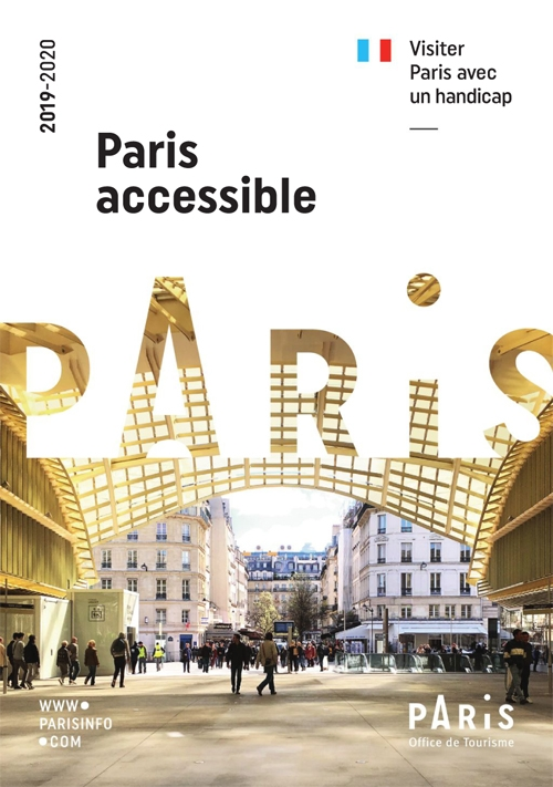 Couverture du guide Paris Accessible