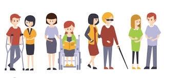 Visuel de personnes en situation de handicap