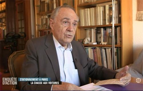 Jacques Gonzales, représentant du CAPFD 75, dans Enquête d'Action sur W9