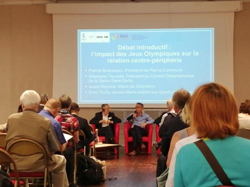 Débat inclusif : L'impact des J.O. sur la relation centre-périphérie