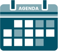 Pictogramme de l'agenda des activités de la Délégation