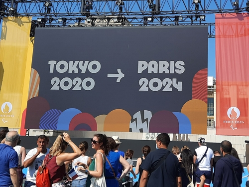 Passage de relais de Tokyo à Paris