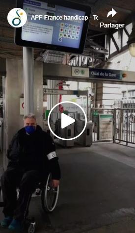 Regarder la vidéo sur Facebook :   APF France handicap - Territoire Grand Paris était en direct · S'abonner Lire -1:09:35 Couper le son Paramètres visuels supplémentaires Afficher en plein écranCliquez pour regarder sur Facebook www.facebook.com/watch/?v=163669762335872