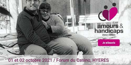 Salon Amours & Handicaps, les 1er et 2 octobre à Hyères