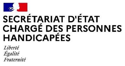 logo du Secrétariat d'Etat Chargé des Personnes Handicapées
