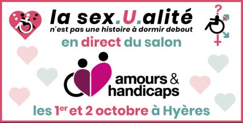 Radio Roue Libre au salon Amours & Handicaps