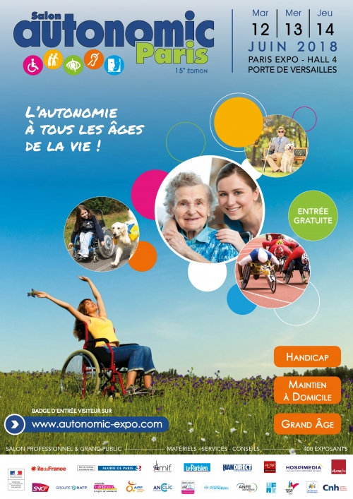 Affiche du Salon Autonomic 2018