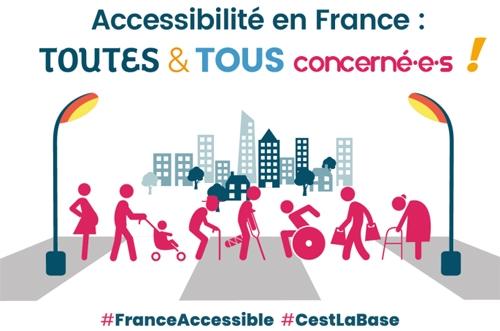 Accessibilité en France : Toutes et tous concerne-é-s !