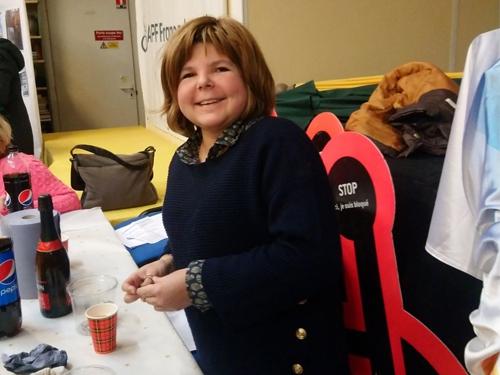 Photo de Carla Lucas, bénévoles à la délégation APF France handicap de Paris