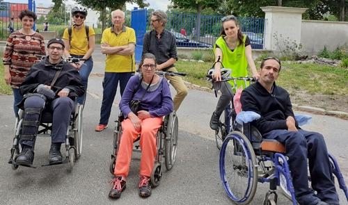 Le Comité APF de Saint-Maur-des-Fossés et son vélofauteuil