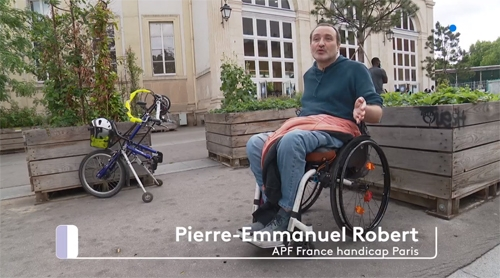 Pierre-Emmauel Robert sur France 3 Ile-de-France