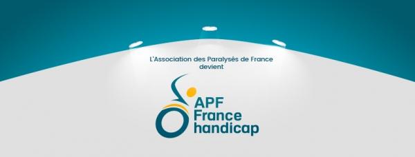 Nouveau logo APF France handicap