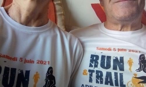Claudie et Guy Michel en tshirt