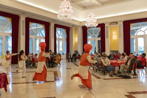 Spectacle de danses indiennes