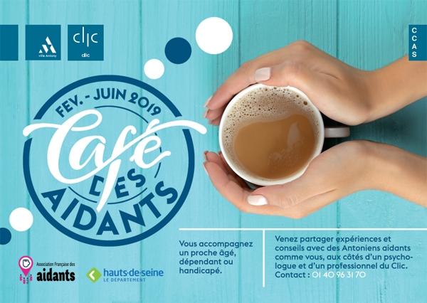 Visuel du Café des Aidants - de février à juin