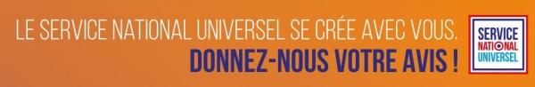 Le service national universel se crée avec vous, donnez-nous votre avis !