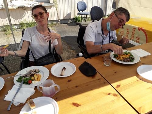 Barbecue du groupe amitié partage et solidarité le 14 septembre 2020 à la délégation du Val-de Marne