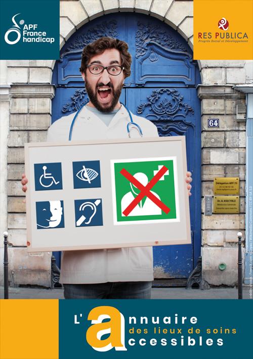 L'Annuaire des lieux de soins accessibles !