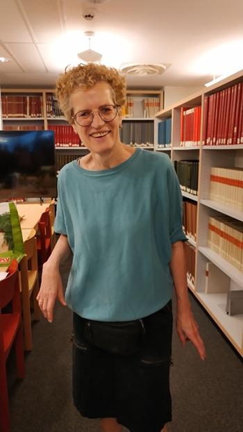 Claudie Chleq, bénévoles à la délégation de Paris