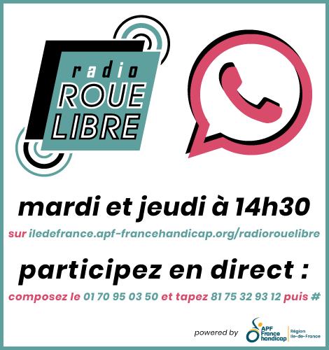 Radio Roue Libre - mardi et jeudi à 14h30 !