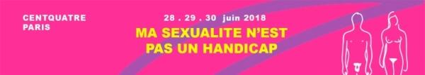 """Logo du Festival """"Ma sexualité n'est pas un handicap"""""""