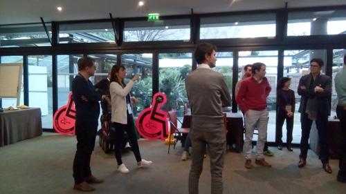 Sensibilisation du groupe Solidéo à Roland Garros