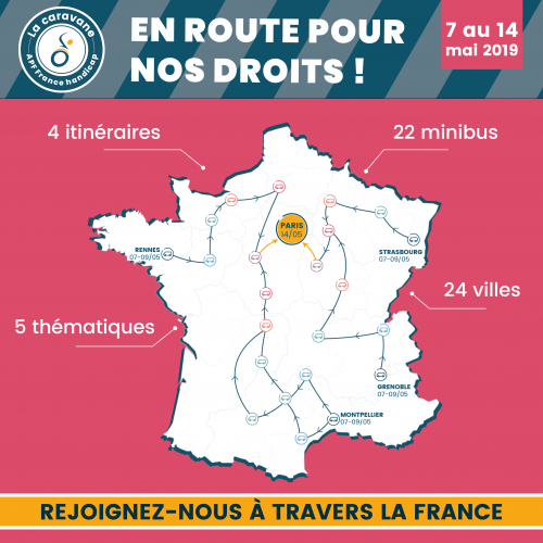 Du 7 au 17 mai, une semaine d'actions dans toute la France