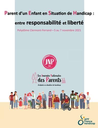 Journées Nationales des Parents 2021 - Clermont-Ferrand les 5, 6 et 7 novembre