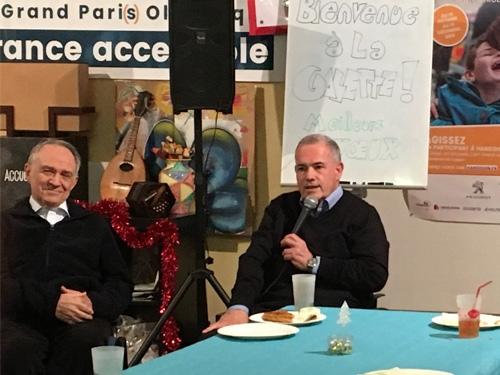 Alain Rochon à la galette de la délégation de Paris.
